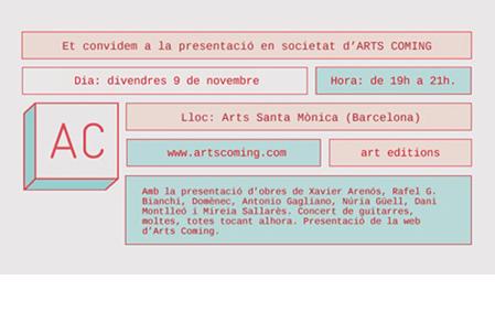 arts coming